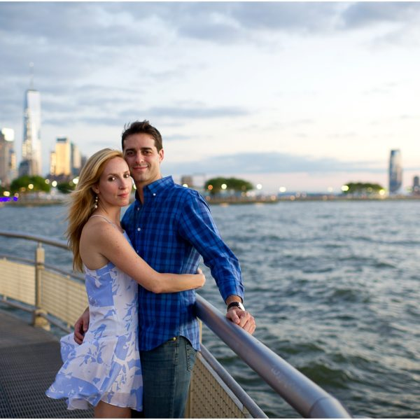 Aliza and Nate's West Village NYC Engagement Session