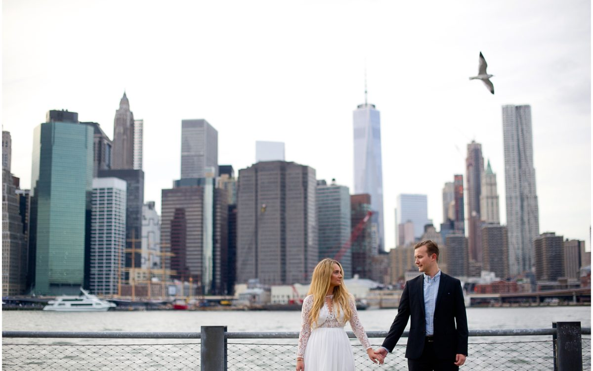 Alina and Boris' Brooklyn Engagement Session