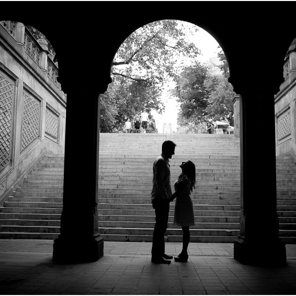 Nicole and Mercer's Central Park Engagement Session