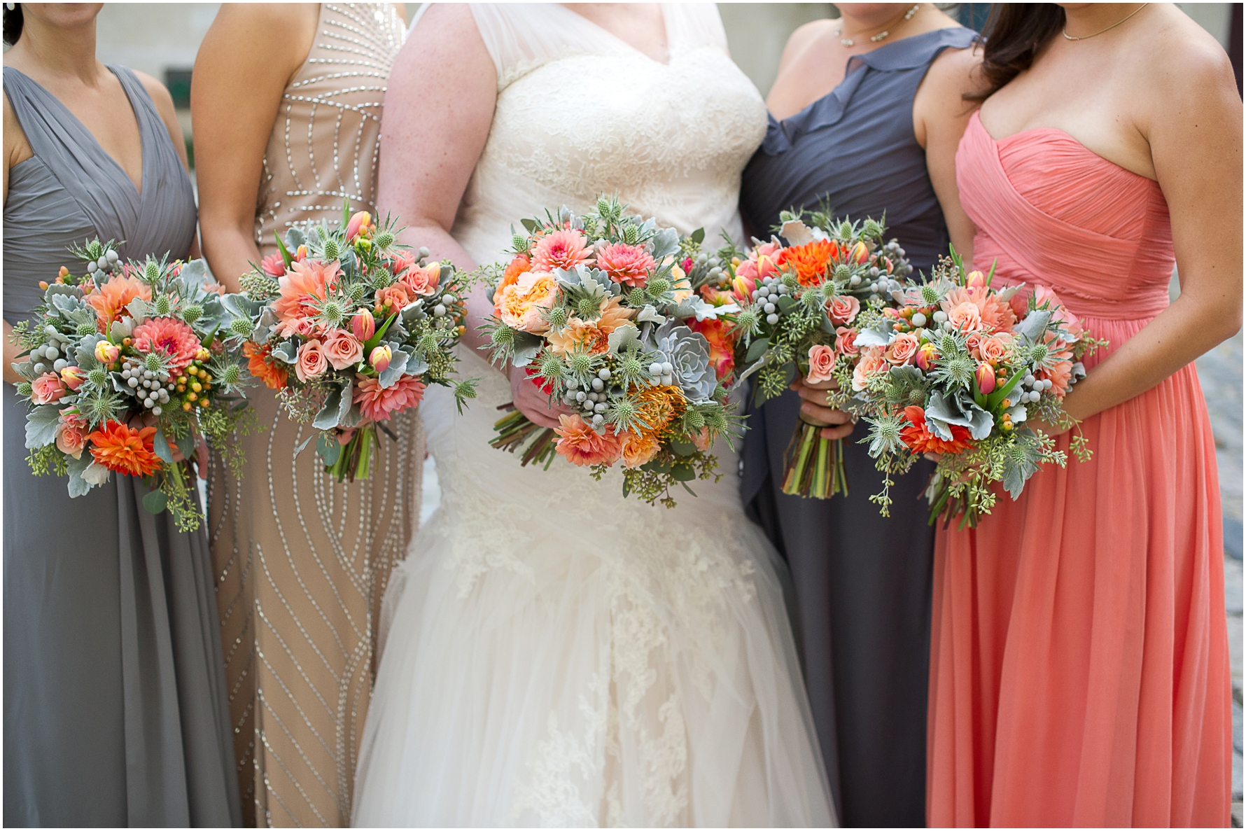Beautiful flowers for a fall wedding