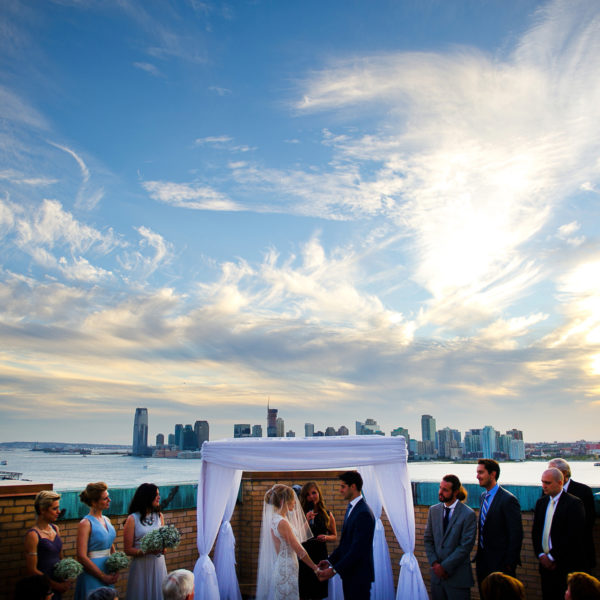 Aliza and Nate's Manhattan Rooftop Wedding